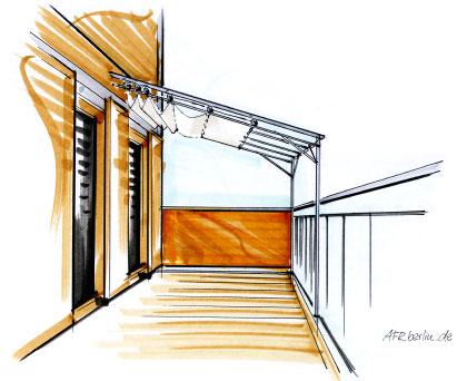 pavillon für balkon